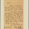 Letter to Benjamin Chew