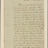 Letter to Nicholas Vincent, senior captain at Plymouth