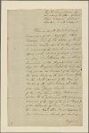 Letter to Nicholas Vincent, senior captain at Plymouth