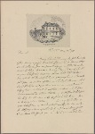 Letter to John Dickinson, Wilmington