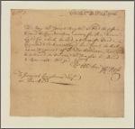 Letter to Jeremiah Langhorne, Bucks [County, Penn.]