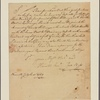 Letter to John Swift, Collector of His Majesty's Customs, Philadelphia