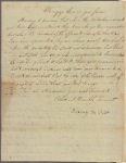 Letter to the Select Men of Boston