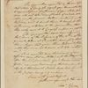 Letter to [the Legislature of Maryland.]