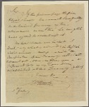 Letter to John Hall