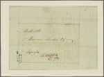 Letter to Thomas Sim Lee. M. Gerrard [Gérard]