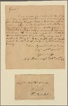 Letter to M[atthew] and Thomas Irwin, Philadelphia