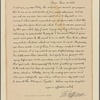 Letter to Martha Jefferson