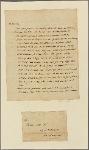 Letter to Thomas Law, Washington