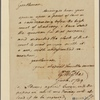 Letter to James Mercer, and other judges of the general court