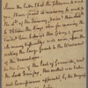 Letter to [James Hamilton, deputy-governor of Pennsylvania]