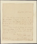 Letter to Thomas Pinckney