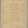 Letter to Gov. Benjamin Harrison [Richmond]