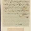Letter to James Mercer, Fredericksburg