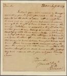 Letter to Gen. J[ethro] Sumner, Bute County, N.C.