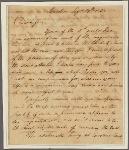 Letter to Oliver Towles, Spotsylvania