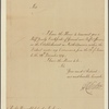 Letter to Charles Jenkinson [London]