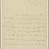 Letter to Maj. Gen. Bailie