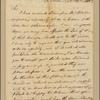 Letter to Petit de Villers, Savannah