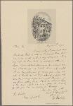 Letter to [John Faucheraud] Grimké