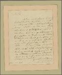 Letter to Benjamin Walker, Naval Officer, New York