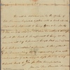 Letter to Col. [Timothy] Bedel, Onion River