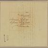 Letter to M. Godine, Charenton