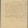 Letter to [Gen. Henry Watson Powell, Ticonderoga.]