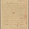 Letter to Col. John Nelson, Elizabeth Town
