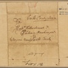 Letter to Jethro Sumner and Philemon Hawkins, Bute County