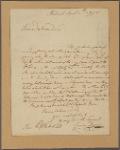 Letter to E[leazar] Whelock [Hanover, N. H.]