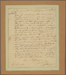 Letter to Gen. Benjamin Lincoln