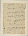 Letter to [a Mohawk sachem.]