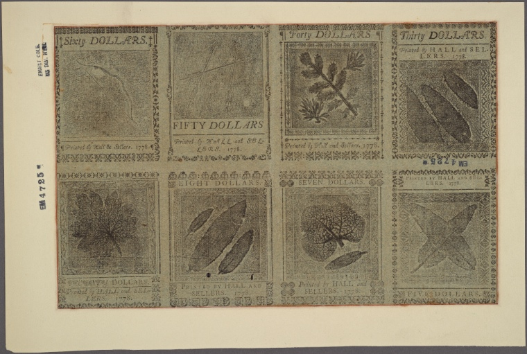 This is What United States and Paper Money Looked Like  on 9/26/1778