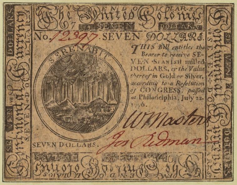 on 7/22/1776