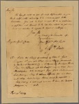 Letter to Gen. George Clinton, Kingsbridge