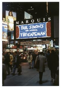 The capeman (Musical), (Simon), Marquis Theatre (1998)