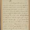 Letter to Jeremiah Wadsworth, Hartford