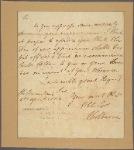 Letter to [Henry Laurens.]
