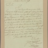 Letter to Col. Jeremiah Wadsworth, Agent to the French Army