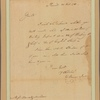 Letter to Macon and Mallone
