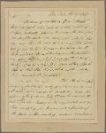Letter to Gen. [Alexander] Hamilton