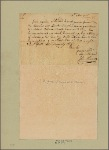 Letter to Col. George Washington