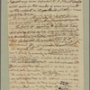 Letter to [George Burjin, Bridgetown?]