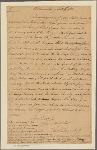 Letter to [Gov. Thomas Jefferson.]