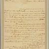 Letter to Robert Carter, Williamsburg, Va.