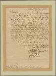 Letter to Benjamin Lincoln