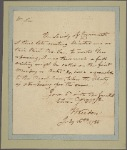 Letter to Horatio Gates, Berkeley, Va.