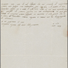 Autograph letter unsigned to Lord Byron, ?Summer 1817-April 1819