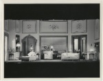 Set design by Laurence Irving for the stage production There's Always Juliet.